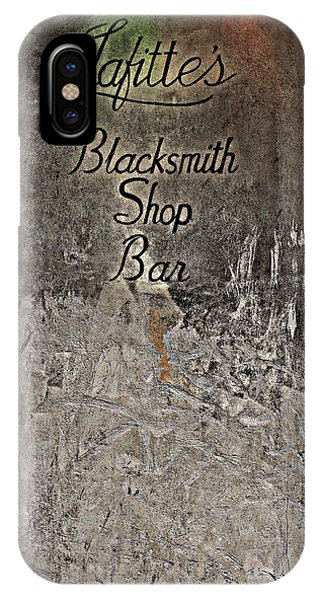 Lafitte's Blacksmith Shop Bar IPhone Case