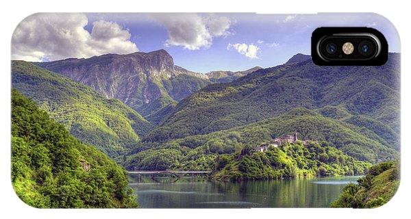 Lago Di Vagli IPhone Case
