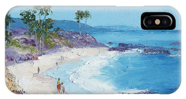Laguna Beach iPhone Case - Laguna Beach by Jan Matson