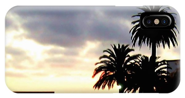 Laguna Beach Sunset 4 IPhone Case