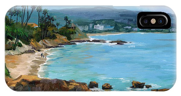 Laguna Beach Winter IPhone Case