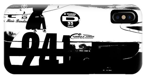 Classic Cars iPhone Case - Laguna Seca Racing Cars 2 by Naxart Studio