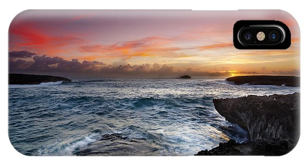 Laie Point Sunrise IPhone Case