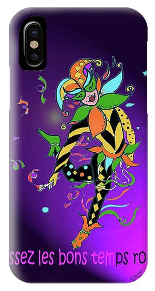 Laissez Les Bon Temps Rouler IPhone Case