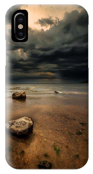 Lake And Clouds Phone Case by Garett Gabriel