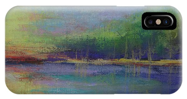 Lake At Sundown IPhone Case