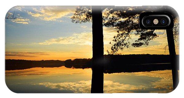 Lake At Sunrise IPhone Case