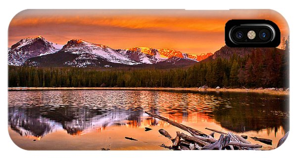 Lake Bierstadt In The Morn IPhone Case