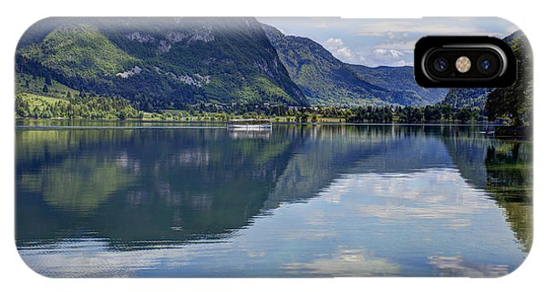 Lake Bohinj IPhone Case