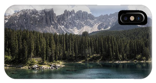 Lake Carezza IPhone Case