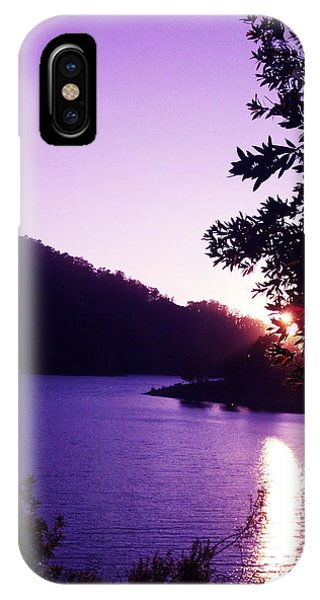 Lake Chabot On A Summer Eve IPhone Case
