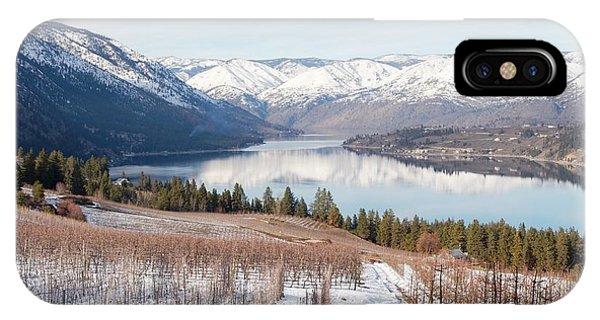 Lake Chelan In Winter IPhone Case