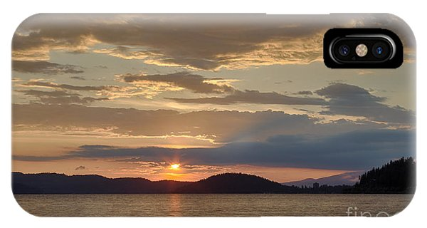 Lake Coeur D Alene IPhone Case