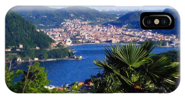 Lake Como Itl7724 IPhone Case