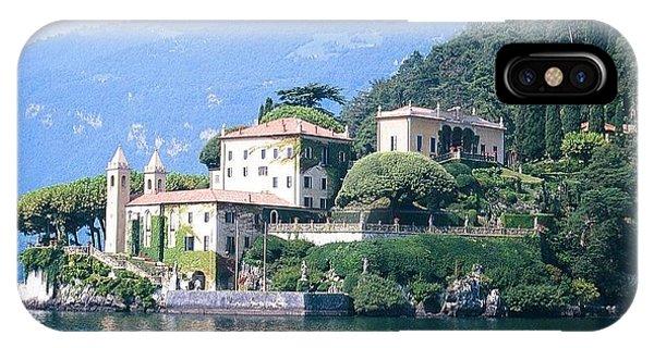 Lake Como Palace IPhone Case