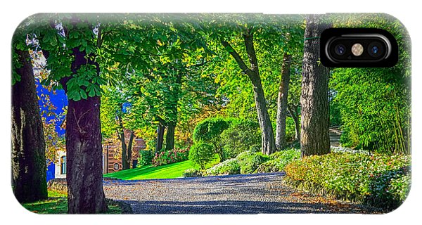 Lake Como Path IPhone Case