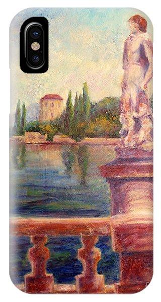 Lake Como View IPhone Case