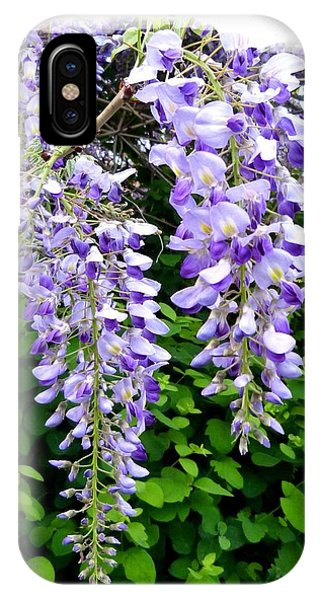 Lake Country Wisteria IPhone Case