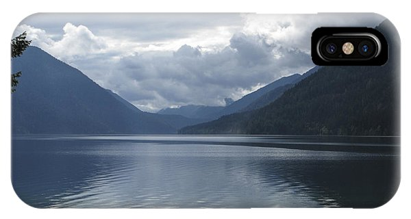 Lake Crescent Phone Case by Jill Bell