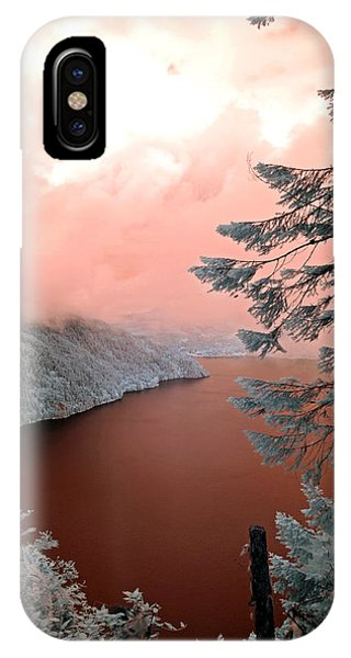 Lake Crescent Light IPhone Case