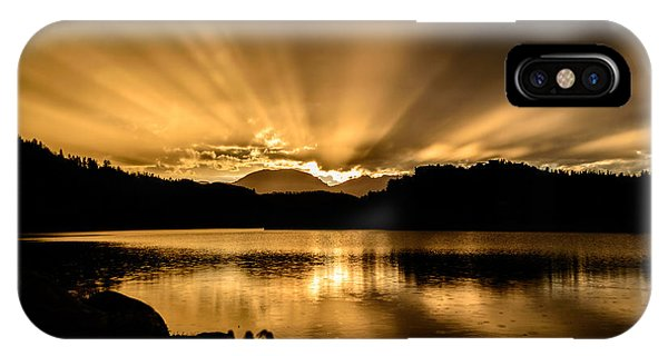 Lake Dillon Sunset IPhone Case
