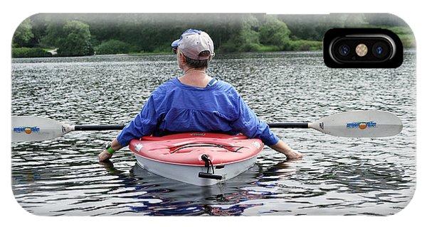 Lake Drifting IPhone Case