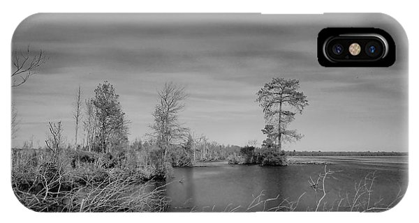 Lake Drummond IPhone Case