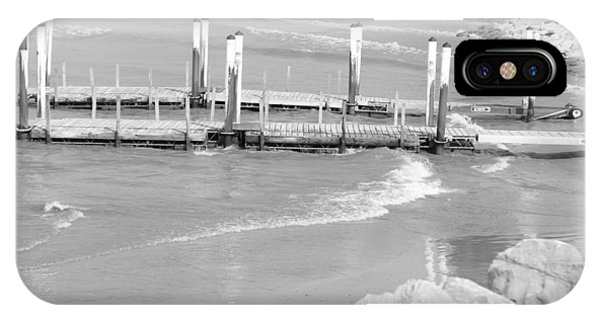 Lake Erie Dock IPhone Case