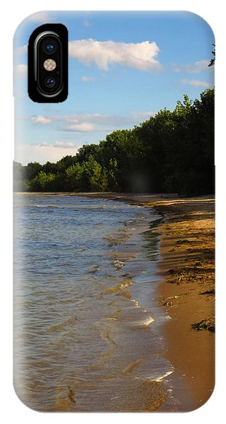 Lake Erie Shore 3 IPhone Case
