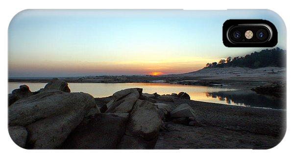 Lake Folsom California Rocky Sunset IPhone Case