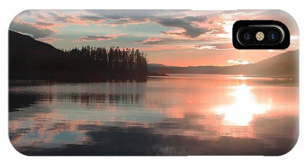 Lake Granby Sunset IPhone Case
