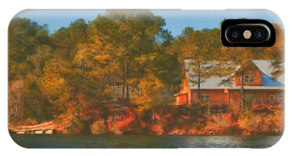Lake House IPhone Case