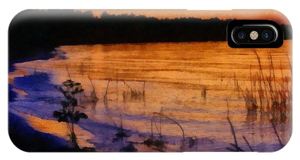 Lake Huron Sunset  IPhone Case