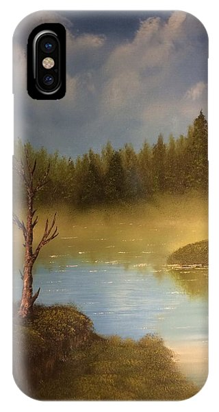 Lake In The Woods  IPhone Case