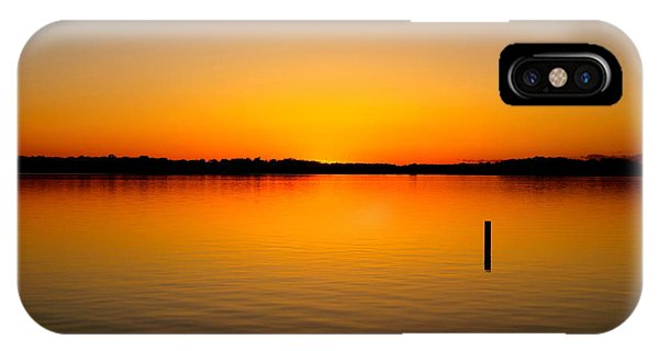 IPhone Case featuring the photograph Lake Independence Sunset by Jacqueline Athmann