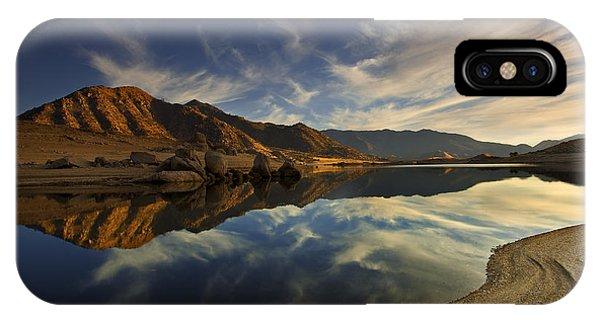 Lake Isabella  Mg_8082 IPhone Case
