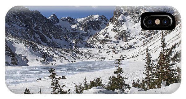 Indian Peaks Wilderness iPhone Case - Lake Isabelle by Aaron Spong