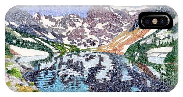 Lake Isabelle Colorado IPhone Case