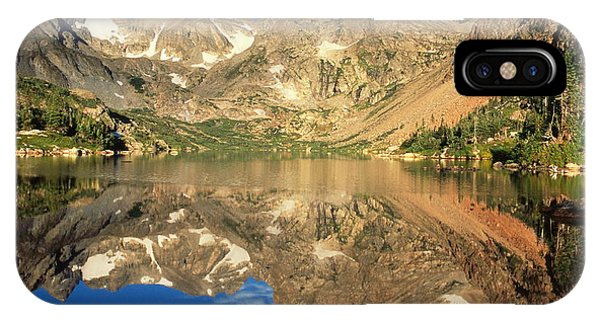 Indian Peaks Wilderness iPhone Case - Lake Isabelle by Eric Glaser