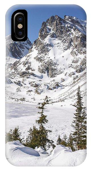 Indian Peaks Wilderness iPhone Case - Lake Isabelle Vertical by Aaron Spong