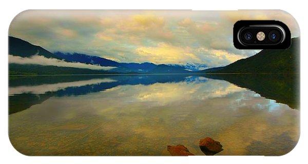Lake Kaniere New Zealand IPhone Case