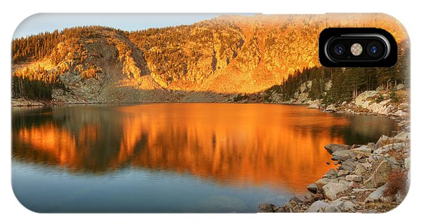 Lake Katherine Sunrise IPhone Case
