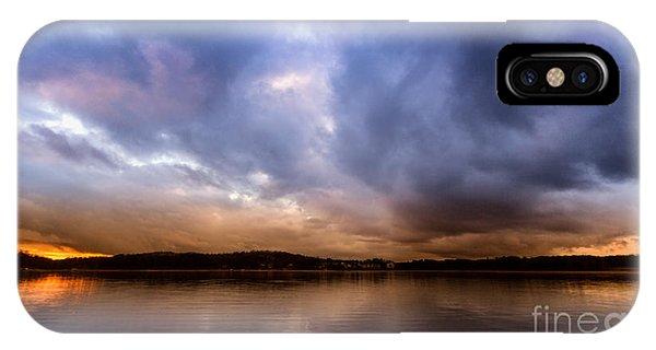 Lake Lanier Sunset IPhone Case