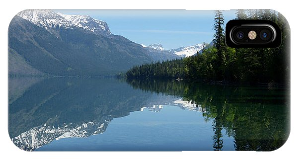 Lake Mcdonald - Glacier National Park IPhone Case