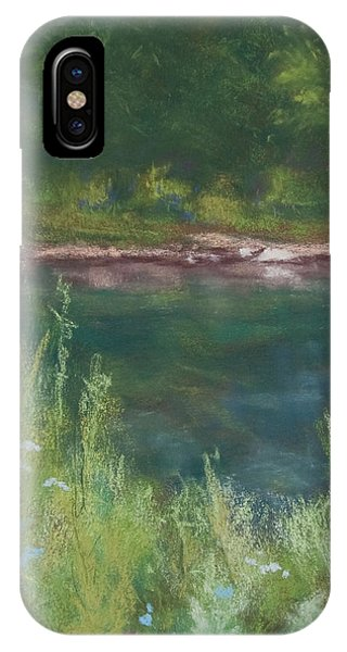 Lake Medina IPhone Case