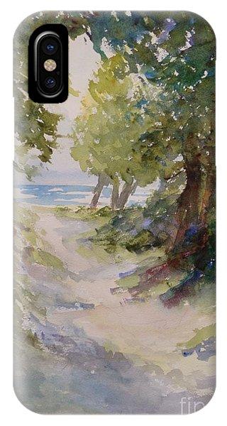 Lake Michigan Beach Path IPhone Case