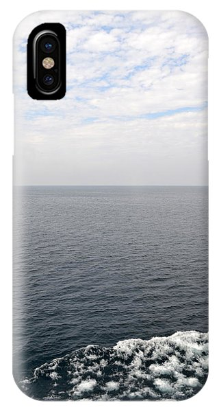 Lake Michigan Midpoint IPhone Case