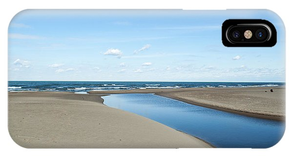Lake Michigan Waterway  IPhone Case