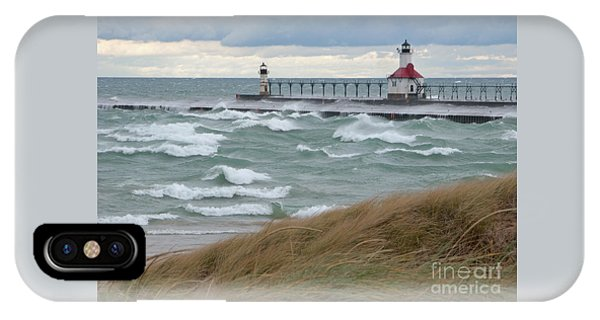 Lake Michigan Winds IPhone Case