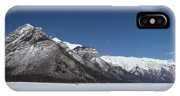 Lake Minnewanka Panorama IPhone Case
